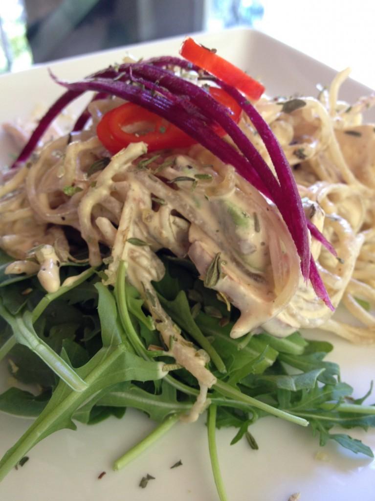 Kelp Noodles, Plated